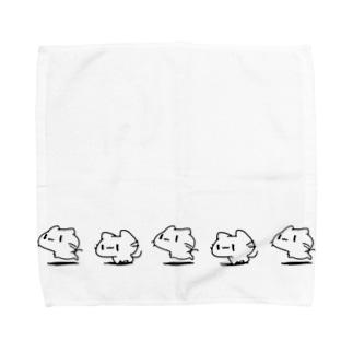 どどねこ-せいれつ- Towel handkerchiefs