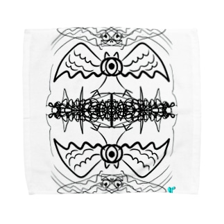 1つ目鳥 Towel handkerchiefs