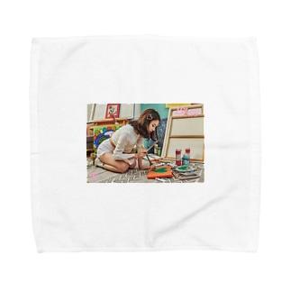 チェヨン  Towel handkerchiefs