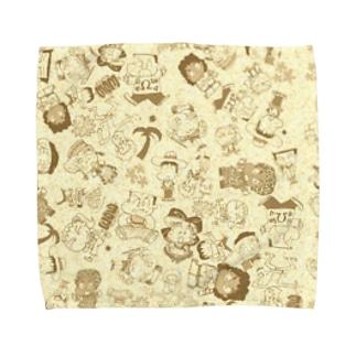 ロコトルアン・キッズ Towel handkerchiefs
