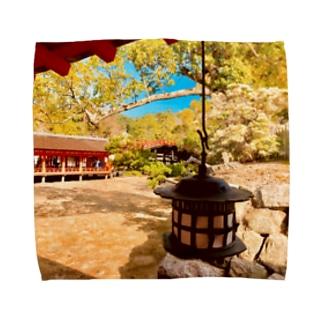 NIPPONの風景。(宮島編) Towel handkerchiefs