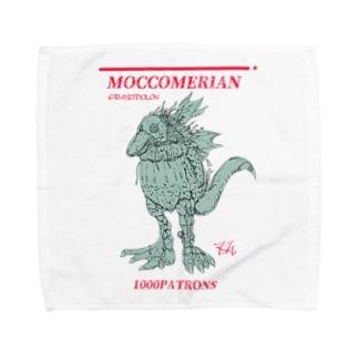 モッコメリアン1000パトロンズ(春野カズユキversion) Towel handkerchiefs