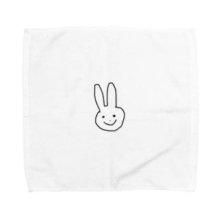 ウサギ Towel handkerchiefs