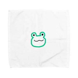 カエル Towel handkerchiefs