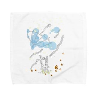 とばされた傘 Towel handkerchiefs