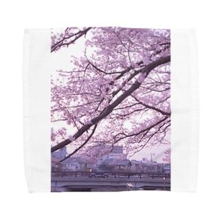 春色のメロディー Towel handkerchiefs