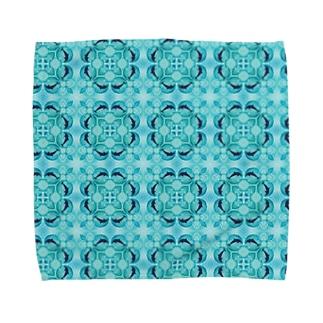 アクアボール(イルカ) Towel handkerchiefs