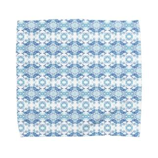 小さな丸の世界(クジラ) Towel handkerchiefs