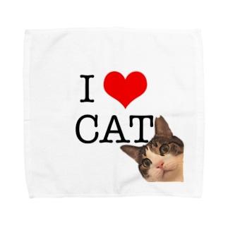 I♡CAT Towel handkerchiefs