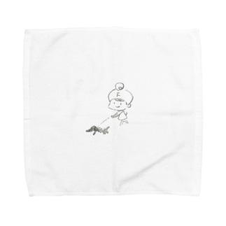フロキャルズ のフロキャルズグッズ Towel handkerchiefs