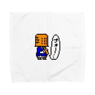 虚無僧(ドット) Towel handkerchiefs