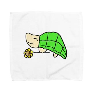 かめさん Towel handkerchiefs
