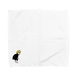 Be a man! Towel handkerchiefs