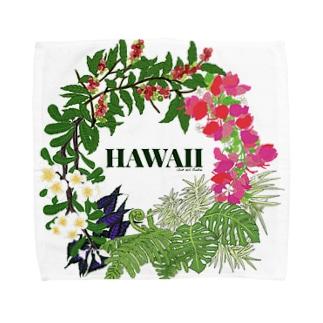 花輪HAWAII Towel handkerchiefs