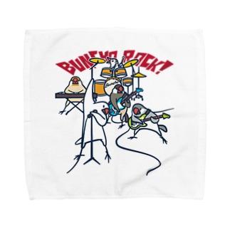 BUNCHO ROCK! Towel Handkerchief