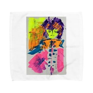 カロロファッション画1 Towel handkerchiefs
