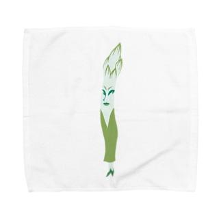 アスねぇ Towel handkerchiefs