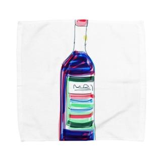 ワインボトル Towel handkerchiefs