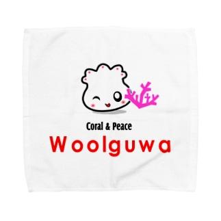 サンゴ Towel handkerchiefs