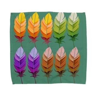 ふわふわ羽根 Towel handkerchiefs