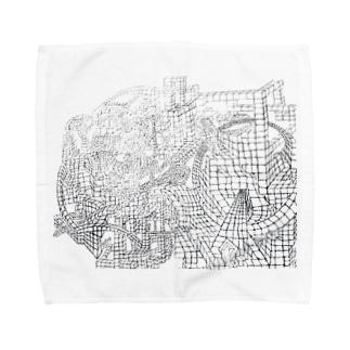 ヾ(*・ω・)ノ ♪  Towel handkerchiefs