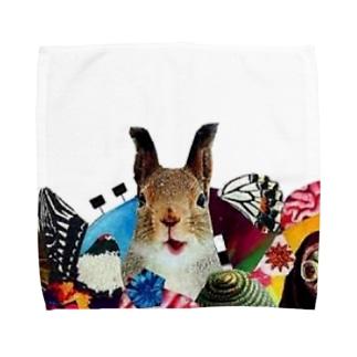 栗鼠 Towel handkerchiefs