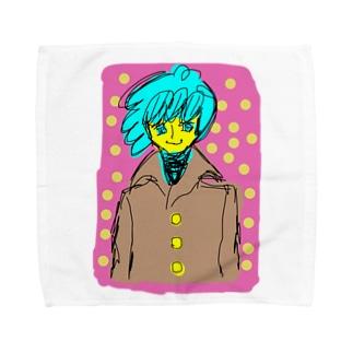 カロロファッション画コート Towel handkerchiefs