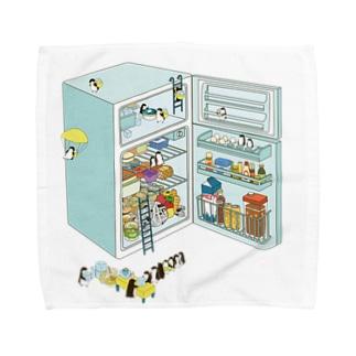penguin refrigerator タオルハンカチ