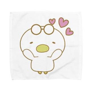 あひる(すき) Towel handkerchiefs