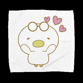 気ままな雑貨屋さんのあひる(すき) Towel handkerchiefs