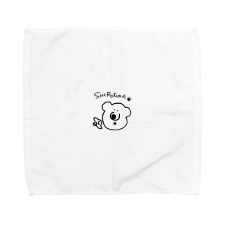 白熊shirokumaしろくま Towel handkerchiefs