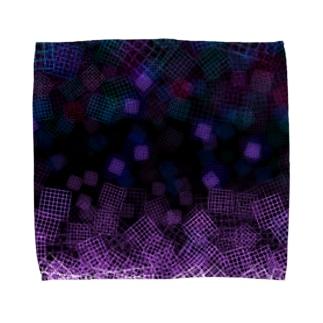 感情と情報の輪廻 Towel handkerchiefs