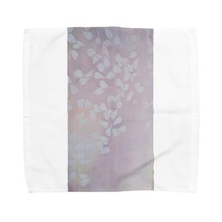 桜 今栄りなり Towel handkerchiefs