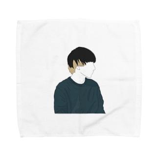 エモい Towel handkerchiefs