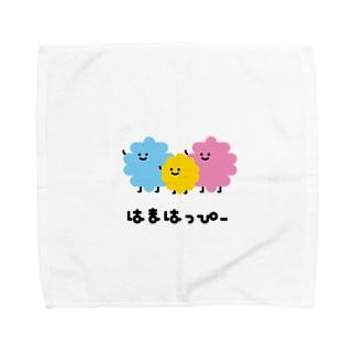 はまはっぴー Towel handkerchiefs