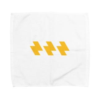ビリビリ Towel handkerchiefs