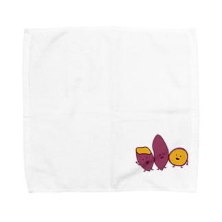さつまいもブラザース Towel handkerchiefs