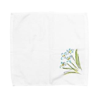 ハナニラ Towel handkerchiefs