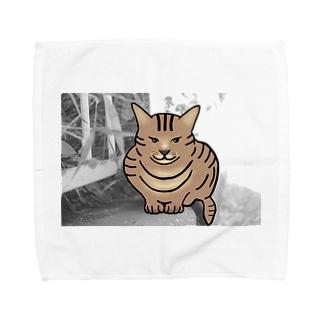 二次元から来た猫 Towel handkerchiefs
