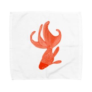 金魚 Towel handkerchiefs
