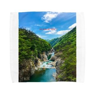 龍王峡1 Towel handkerchiefs