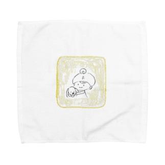 ぎゅぎゅっ Towel handkerchiefs
