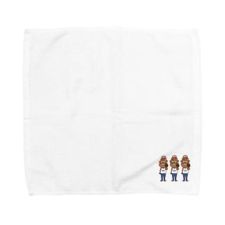ハンバーガーくん Towel handkerchiefs