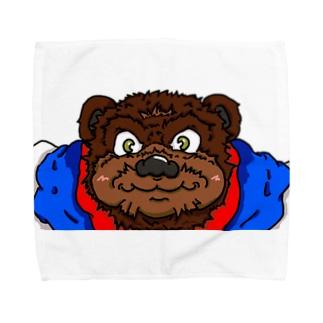 アニマルバウト!! テディ Towel handkerchiefs