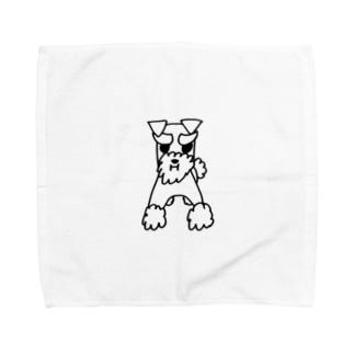 ミニシュナのロサ Towel handkerchiefs