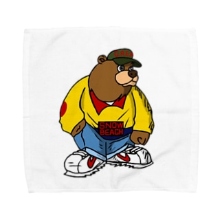 Wu Bear Towel handkerchiefs