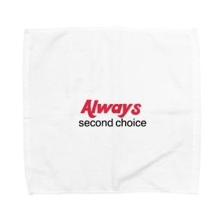Always second  Towel handkerchiefs