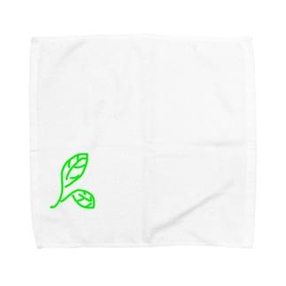 ピース オブ リーフ Towel handkerchiefs
