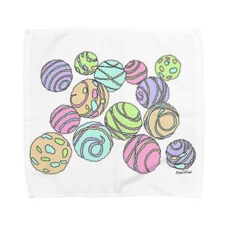 ヨーヨー(カラー1) Towel handkerchiefs