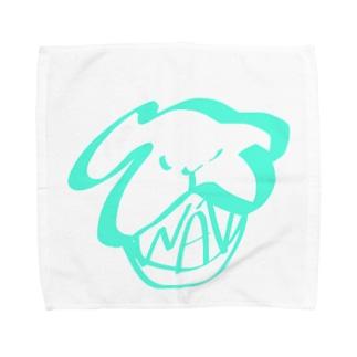 WANの口 Towel handkerchiefs